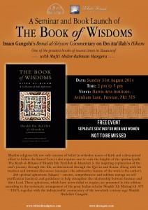 Book launch Book of wisdoms