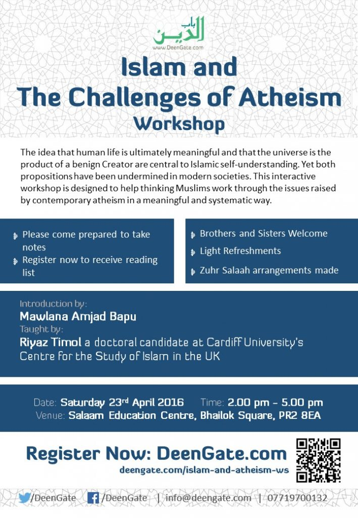Islam and Atheism Poster